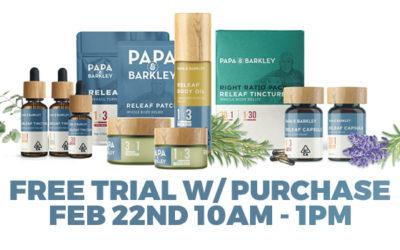 PAPA & BARKLEY FREE TRIAL SIZE